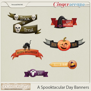 A Spooktacular Day Banners