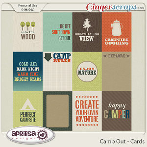 Camp Out - Cards