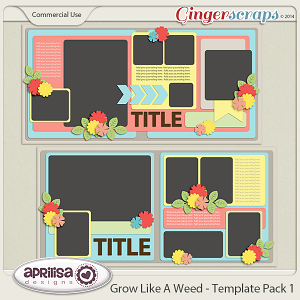 Grow Like A Weed - Template Pack 1