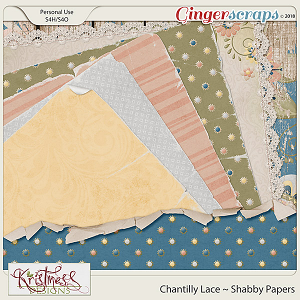 Chantilly Lace Shabby Papers