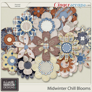 Midwinter Chill Blooms by Aimee Harrison