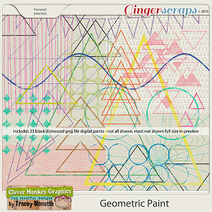 Geometric Paint by Clever Monkey Graphics