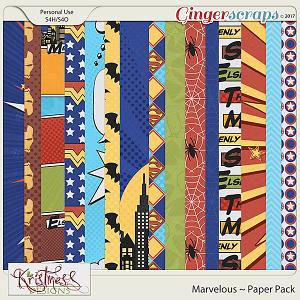 Marvelous Paper Pack