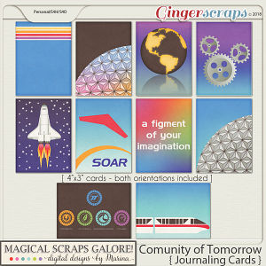 Community of Tomorrow (journaling cards)
