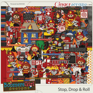 Stop, Drop & Roll by BoomersGirl Designs