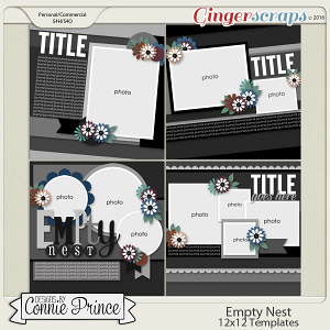 Empty Nest - 12x12 Templates (CU Ok)
