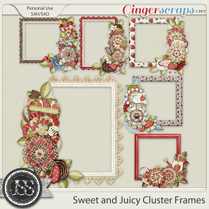 Sweet And Juicy Cluster Frames