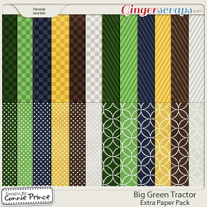 Retiring Soon - Big Green Tractor - Extra Papers