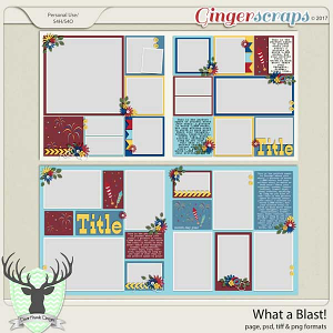 What a Blast Templates by Dear Friends Designs