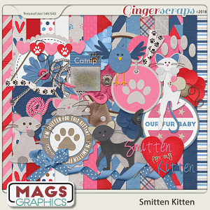 Smitten Kitten KIT by MagsGraphics