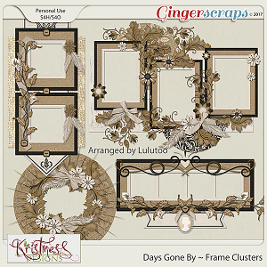 Days Gone By Frame Clusters