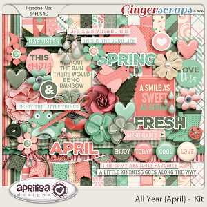 All Year {April} - Kit