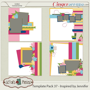 Template Pack 37 by Scraps N Pieces