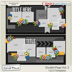 Double Page Volume 2 - 12x12 Temps (CU Ok)