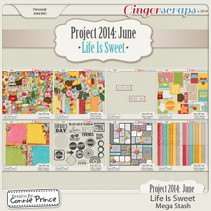 Project 2014 June:  Life Is Sweet - Mega Stash