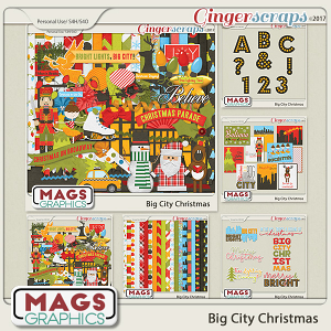 Big City Christmas BUNDLE by MagsGraphics