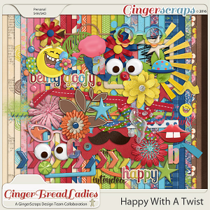 GingerBread Ladies Collab: Happy With A Twist