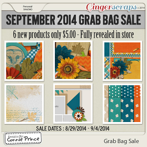 September - Grab Bag Sale - Fabulous Fall