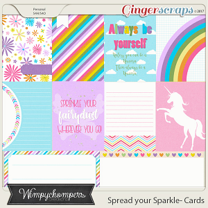 Spread your Sparkle- Cards