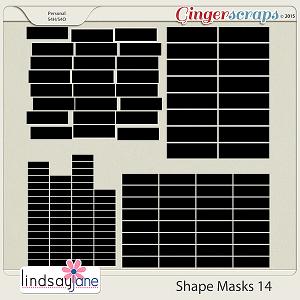 Shape Masks 14 by Lindsay Jane