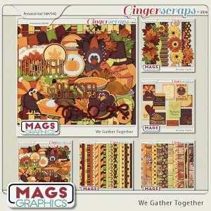 We Gather Together BUNDLE by MagsGraphics