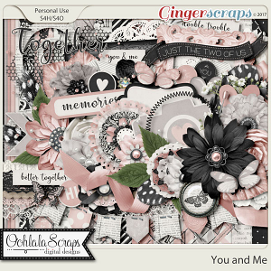 You and Me Digital Scrapbook Kit