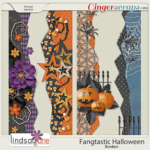Fangtastic Halloween Borders by Lindsay Jane