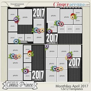 Monthlies April 2017 - 12x12 Temps (CU Ok)