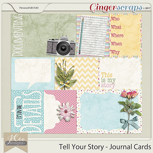 Tell Your Story Journal Cards