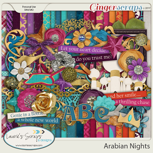 Arabian Nights Page Kit