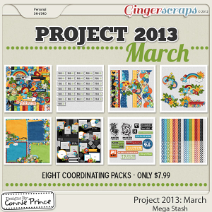 Project 2013: March - Mega Stash