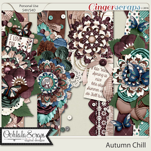 Autumn Chill Page Borders