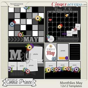 Monthlies May - 12x12 Temps (CU Ok)