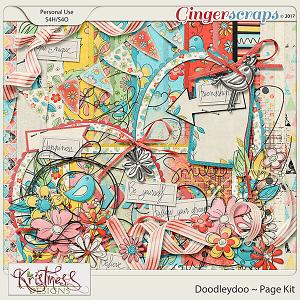 Doodleydoo Page Kit