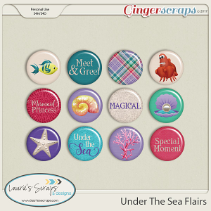 Under The Sea Flairs