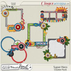 Super Hero - Cluster Pack