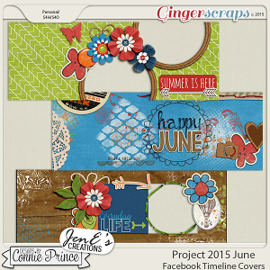 Project 2015 June - Facebook Timeline Covers