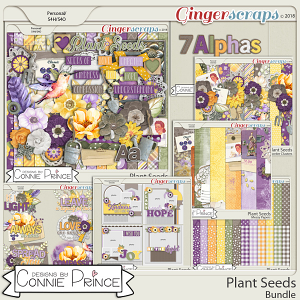 Plant Seeds - Bundle by Connie Prince