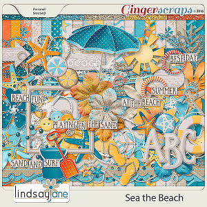 Sea the Beach by Lindsay Jane