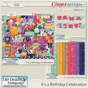 It's a Birthday Celebration {Bundle Collection} by Day Dreams 'n Designs