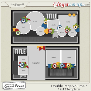 Double Page Volume 3 - 12x12 Temps (CU Ok)
