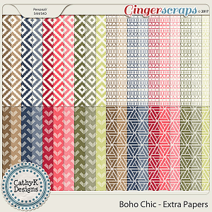 Boho Chic - Extra Papers
