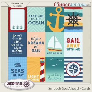 Smooth Sea Ahead - Cards by Aprilisa Designs