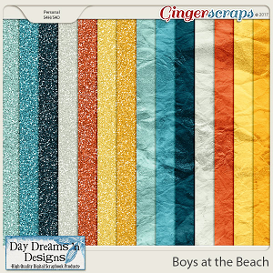 Boys at the Beach {Glitters} by Day Dreams 'n Designs