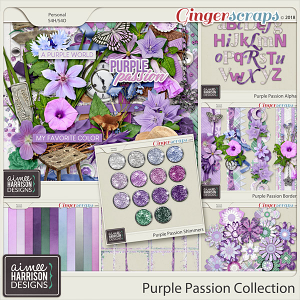 Purple Passion Collection by Aimee Harrison