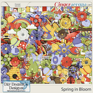 Spring in Bloom {Kit} by Day Dreams 'n Designs