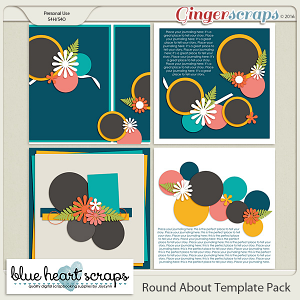 Round About Template Pack