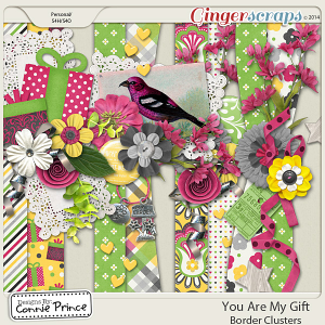 You Are My Gift - Border Clusters