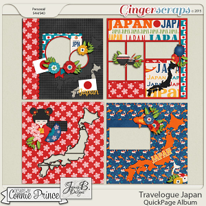 Travelogue Japan - QuickPage Album