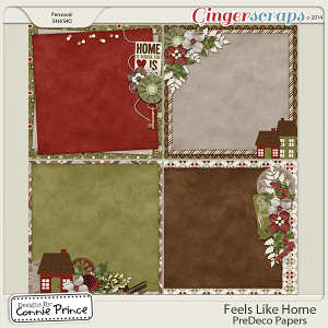 Feels Like Home - PreDeco Papers